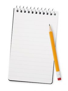 Take detailed notes during webinars
