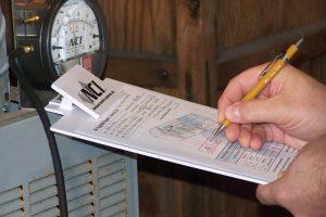 recording measurements